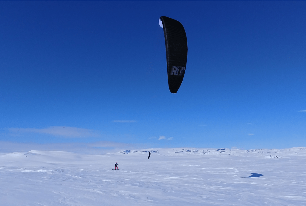 Norway Snowkiting