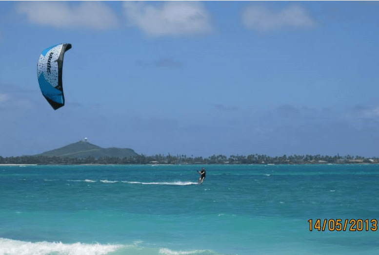 Oahu Kitesurfing in Hawaii
