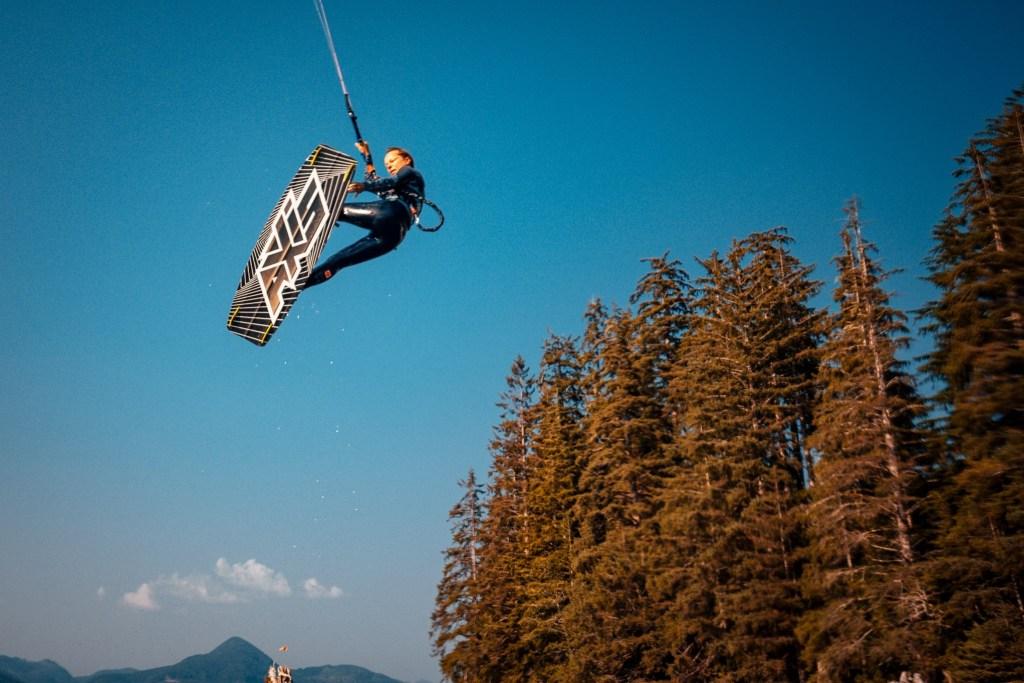 Nitinat Windfest Kitesurfing