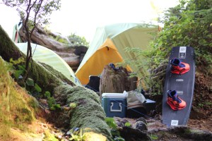 Camping Nitinat Vancouver Island