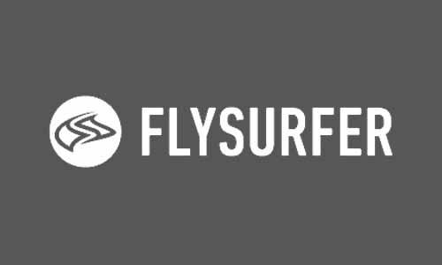 Fly surfer kite